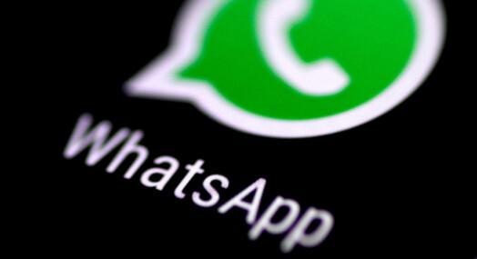 WhatsApp advarer 1,5 milliarder brukere etter sikkerhetsbrudd