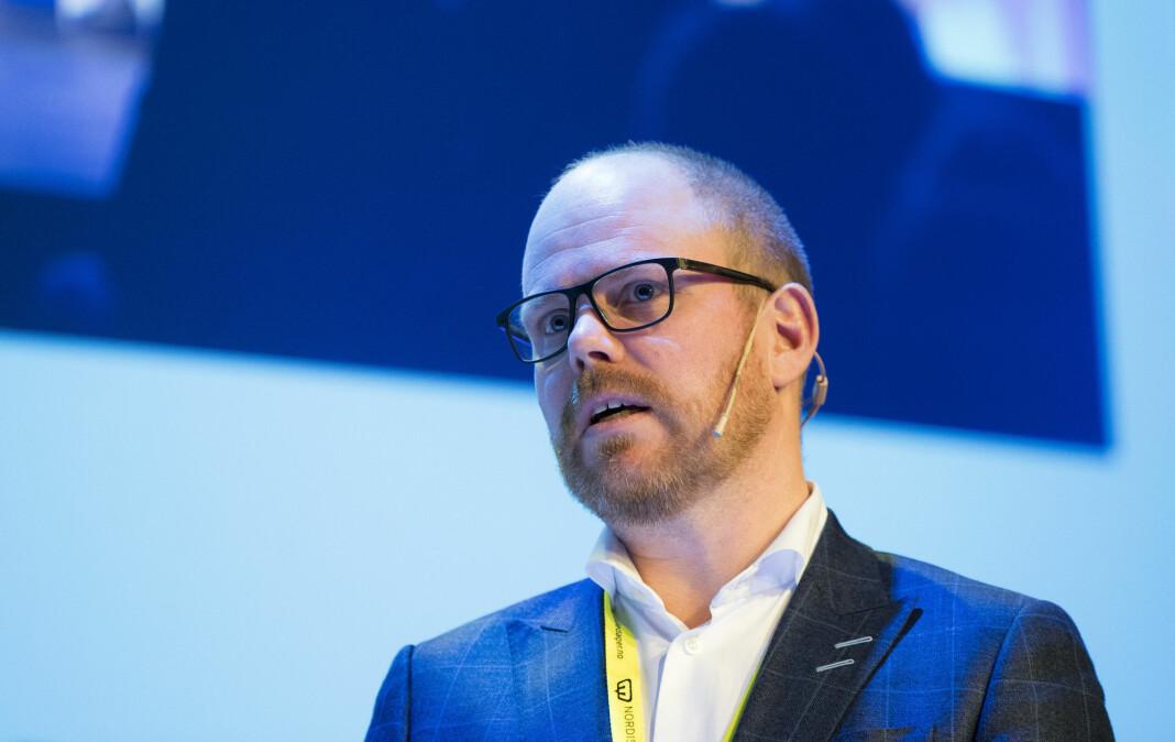 VGTV leverte i første kvartal tall med positivt fortegn, opplyser sjefredaktør Gard Steiro. Foto: Terje Pedersen / NTB scanpix