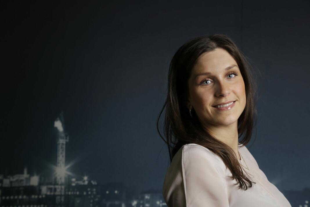 Journalisten som ble direktør. Kristina Fritsvold Nilsen har ansvaret for Romerike og Innlandet i Amedia. Foto: Romerikes Blad