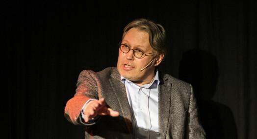 Valgpraten: Skjalg Fjellheim tar det som en selvfølge at også politiske journalister og redaktører stemmer