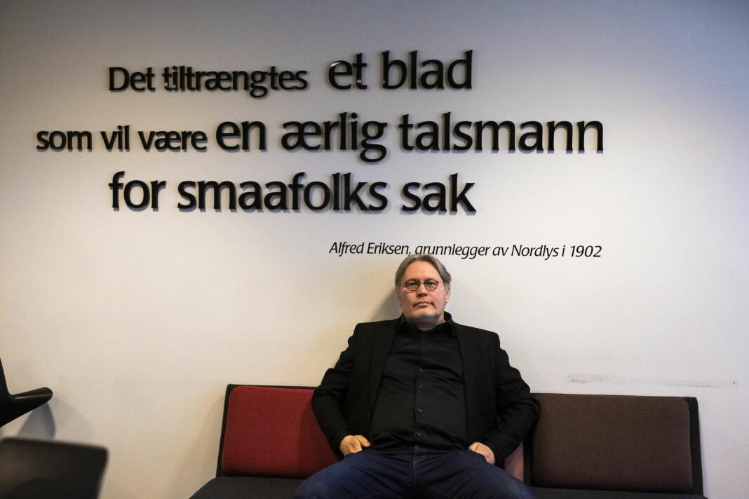 Politisk redaktør Skjalg Fjellheim beklager ordbruken i en Nordlys-leder.