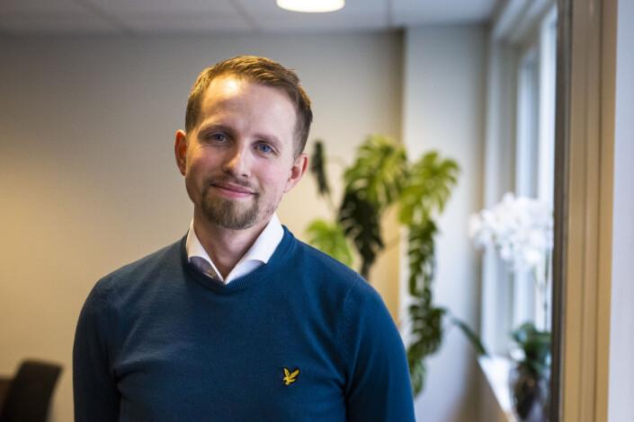Sjefredaktør i Nordlys, Helge Nitteberg. Foto: Kristine Lindebø