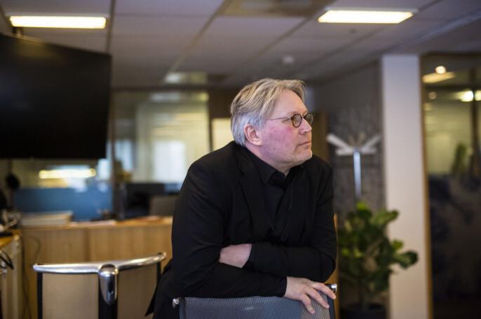 Politisk redaktør i Nordlys, Skjalg Fjellheim. Foto: Kristine Lindebø