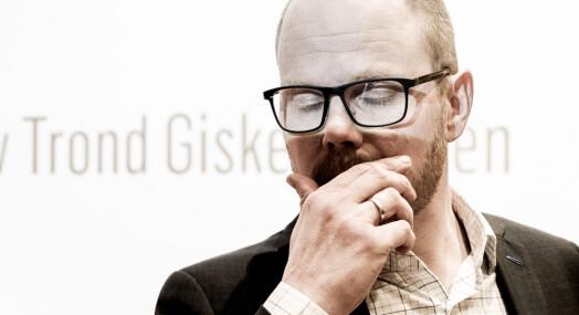VG stuper på omdømme-måling etter Giske-saken
