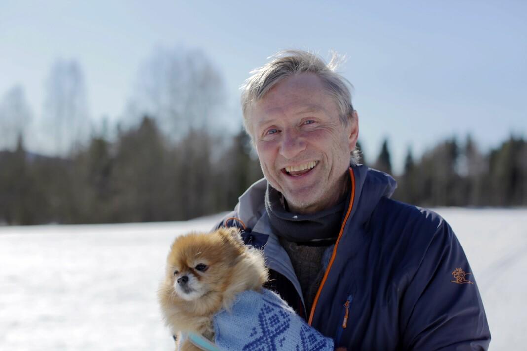 TV-reporter Finn Ove Hågensen har vært hele 27 år i TV 2. Før det var han 10 år i NRK. Foto: Privat