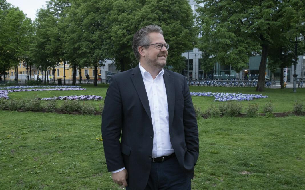 Facebook-direktør Jesper Doub mener det er vanskelig for mediebransjen å ha et ikke-forhold til sosiale medier-giganten. Foto: Roger Aarli-Grøndalen
