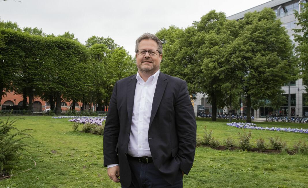 Facebooks forhold til mediebransjen er i stor grad ødelagt, sier Jesper Doub. For cirka et halvt år siden gikk han fra mediebransjen til Facebook. Foto: Roger Aarli-Grøndalen
