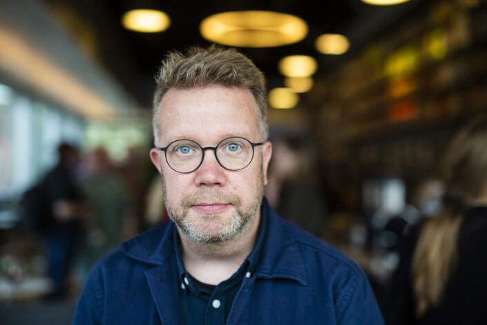 Lars Dareberg er frilansfotograf i Sverige. Foto: Kristine Lindebø