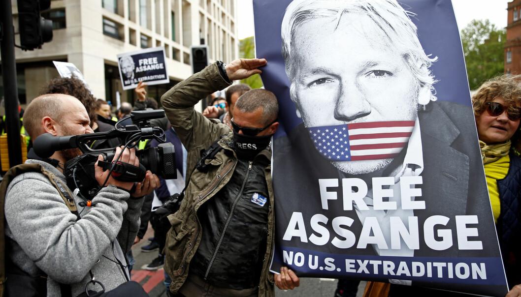 USAs justisdepartement offentliggjorde torsdag en tiltale med 18 punkter mot Julian Assange. Reuters / NTB scanpix