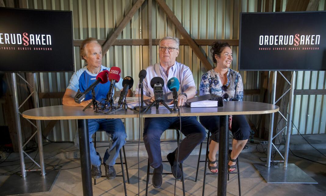 Tore Sandberg har begjært NRK-sjefen avhørt om Orderud-saken