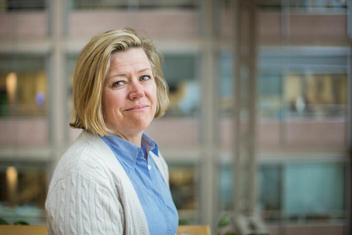 Nyhetsredaktør i Aftenposten, Tone Tveøy Strøm-Gundersen. Foto: Marte Vike Arnesen