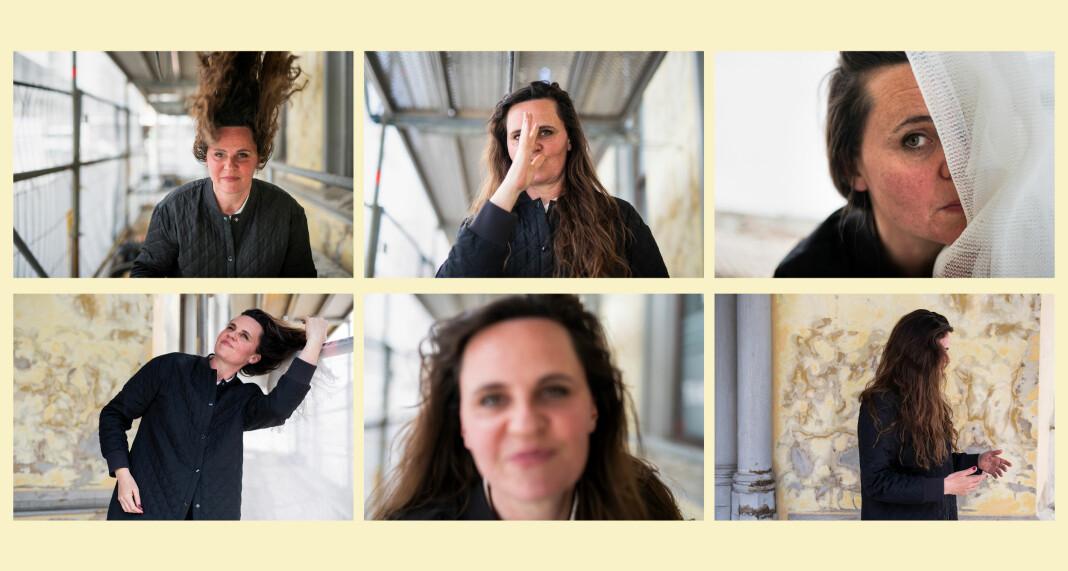 Vi ba om å få fotografere Miriam Dalsgård inspirert av slik hun fotograferer – lekent og fullt av bevegelse. Foto: Kristine Lindebø