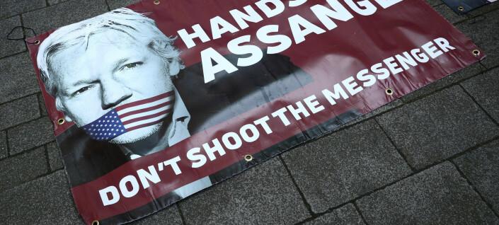 Assange for syk til å delta i rettsmøte