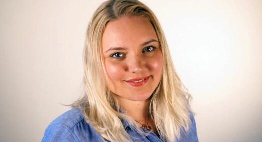 Frida Brembo-Egilsrud er ansatt i Fiskeribladet