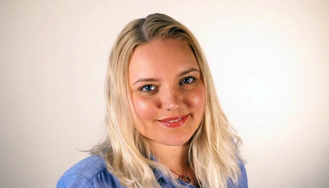 I dag ble Frida Brembo-Egilsrud ansatt i Fiskeribladet - og allerede mandag starter hun i sin nye jobb. Foto: Privat