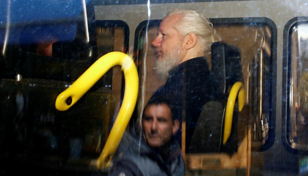 Julian Assange har tilbrakt flere år i Ecuadors ambassade i Storbritannia. Foto: Reuters / NTB scanpix