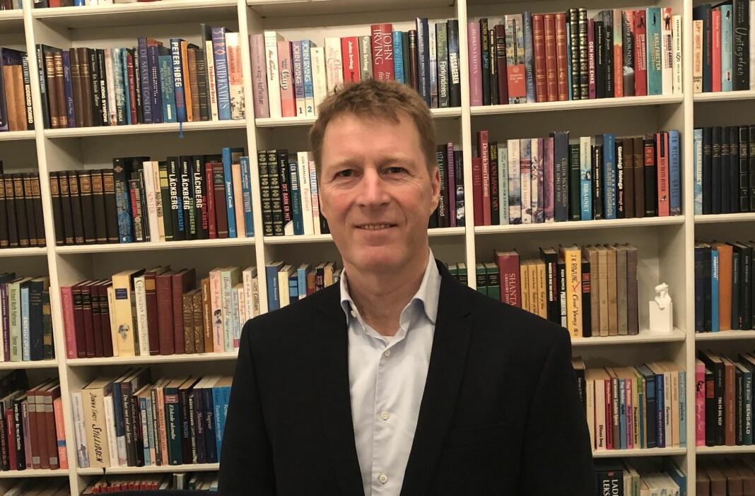 Jim Receveur er ny administrerende direktør og sjefredaktør i Bauer Media Norge. Foto: Bauer Media