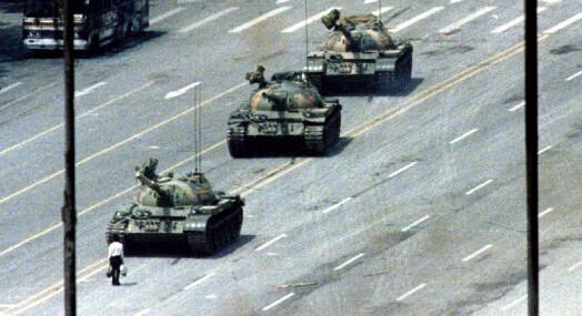 Ingen kinesere får snakke med utenlandske journalister om det som hendte i 1989