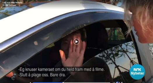 NRK ble fulgt etter og stansa i Kina – fikk ikke gå før de slettet opptak fra kamera