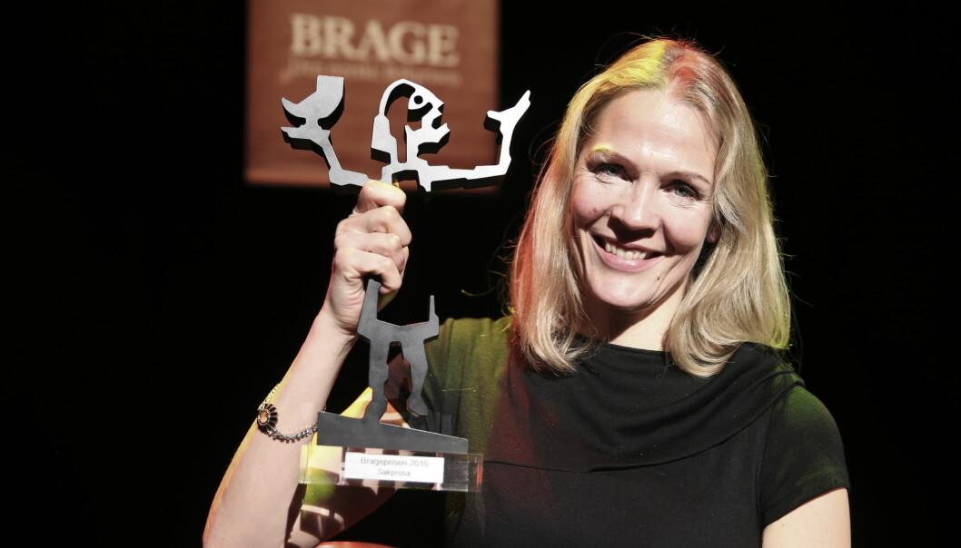 Åsne Seierstad fikk i 2016 Brageprisen i klassen sakprosa for To søstre. Foto: Vidar Ruud / NTB scanpix
