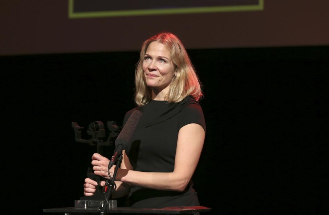Åsne Seierstad fikk prisen i klassen sakprosa for boka «To søstre» utgitt på Kagge Forlag i 2016. Nå kan hun bli saksøkt for boka. Arkivfoto: Vidar Ruud / NTB scanpix
