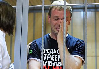 Gravejournalisten Ivan Gulunov ble lurt i en felle, mener hans arbeidsgiver. Foto: Reuters / NTB scanpix