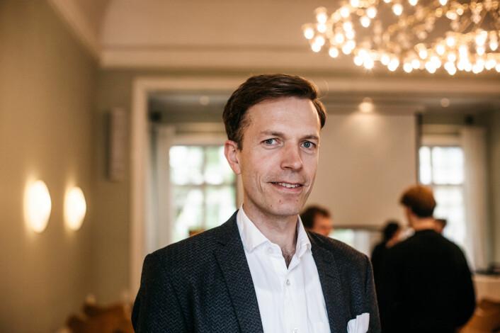 Hallvard Moe, professor i medievitenskap ved UiB og ansvarlig for den norske delrapporten. Foto: Marte Vike Arnesen