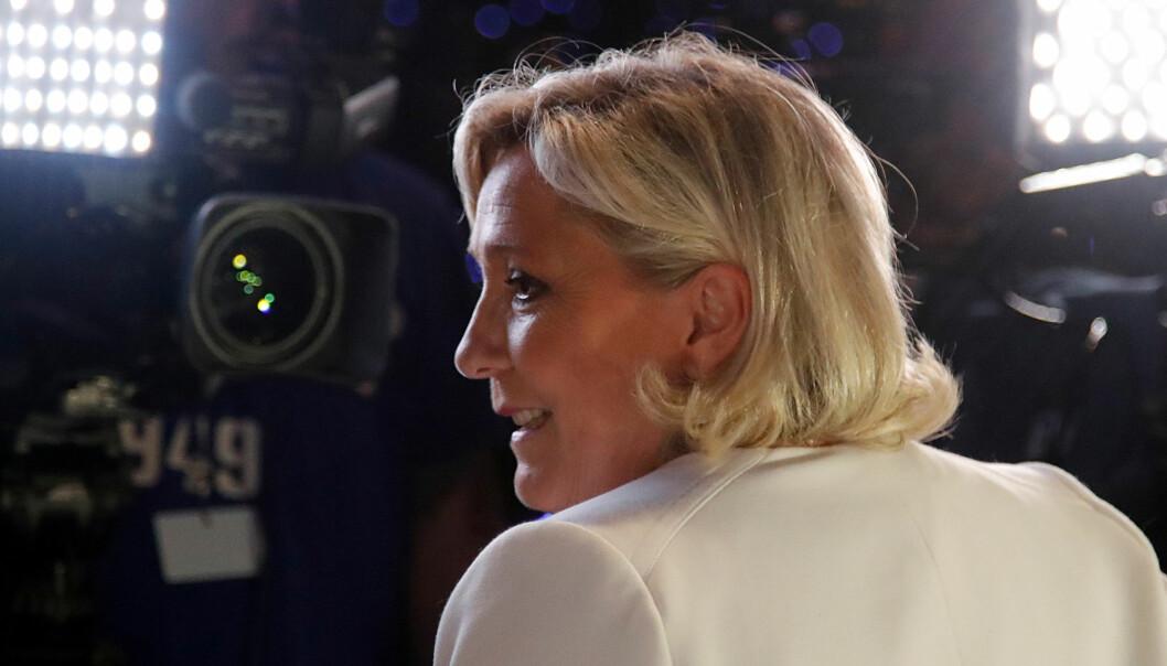 Marine Le Pen delte bildene på Twitter i desember 2015, noen få uker etter terrorangrepet i Paris. Foto: Reuters / NTB scanpix
