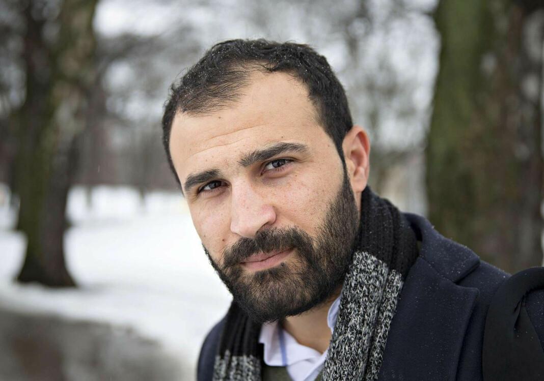 Afshin Ismaeli har vært tilknyttet Aftenposten siden 2017. For øyeblikket befinner han seg i Irak. Foto: Jan Tomas Espedal / Aftenposten