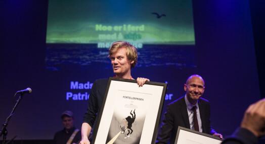 NRKs «Jakten på klimaendringene» vinner Fortellerprisen: – Kort fortalt. Visuelt tenkt. Originalt forløst