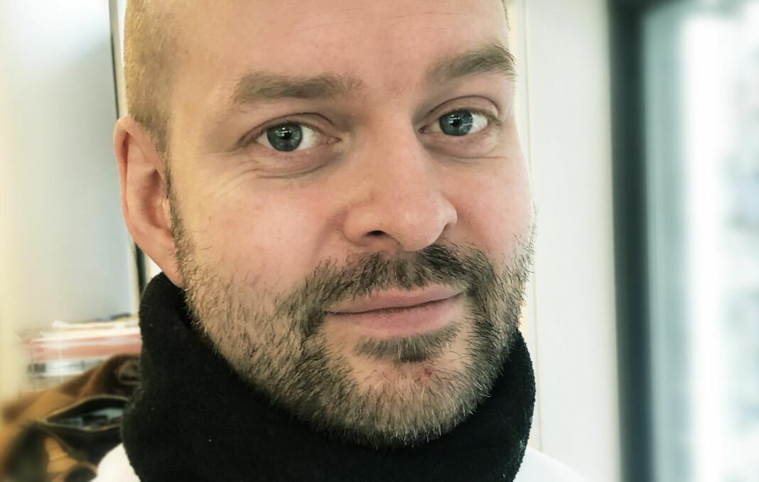 Etter å ha vært innom flere avdelinger i Dagbladet, og også en tur innom VG, har Thomas Karlsen nå fått fast jobb i Dagbladet Magasinet. Foto: Christian Grønvold / Dagbladet