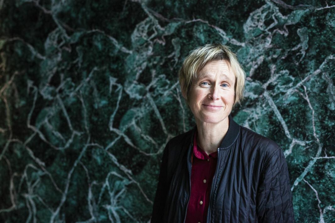 – Det er ikke den fortellinga jeg forteller som er den viktigste, men den du ser for deg, sier journalist, forfatter og programleder Linda Eide. Foto: Kristine Lindebø
