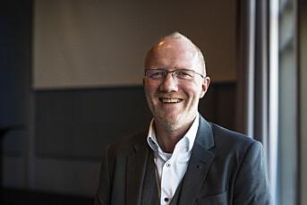 Arne Jensen deltar på seminar om etikk i krisesituasjoner.