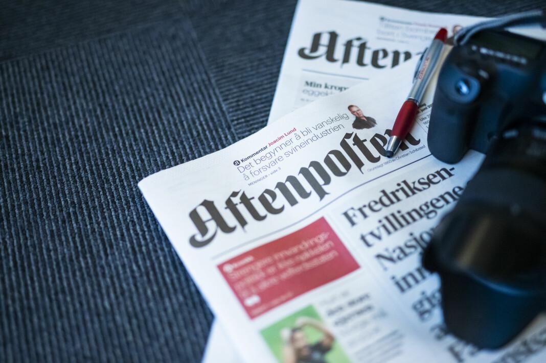 Journalisten har snakket med flere av Aftenpostens frilansfotografer om kontrakten de har hatt med avisa i rundt ett år. Enkelte sier de følte seg presset til å skrive under. Illustrasjonsfoto: Kristine Lindebø
