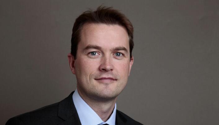 Informasjonsdirektør Bård Glad Pedersen i Equinor viser til at annonseinnholdet er et svar til ungdommene. Foto: Håkon Mosvold Larsen / NTB scanpix