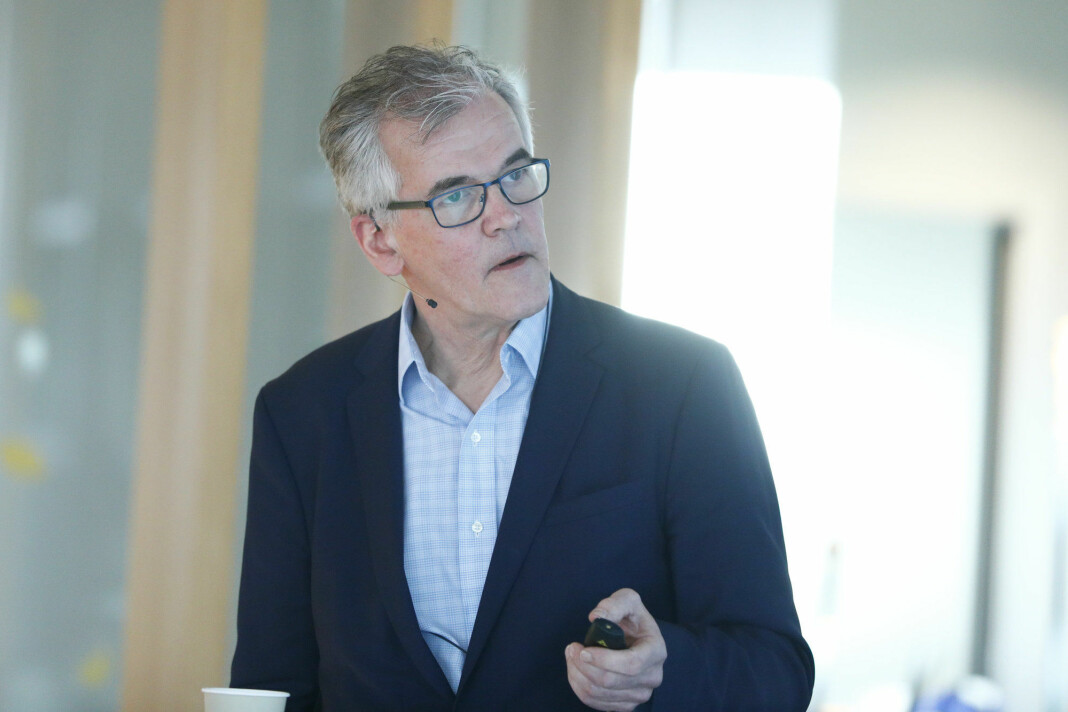 VG-journalist Alf Bjarne Johnsen leder av Pressens Faglige Utvalg. Foto: Fredrik Hagen / NTB scanpix