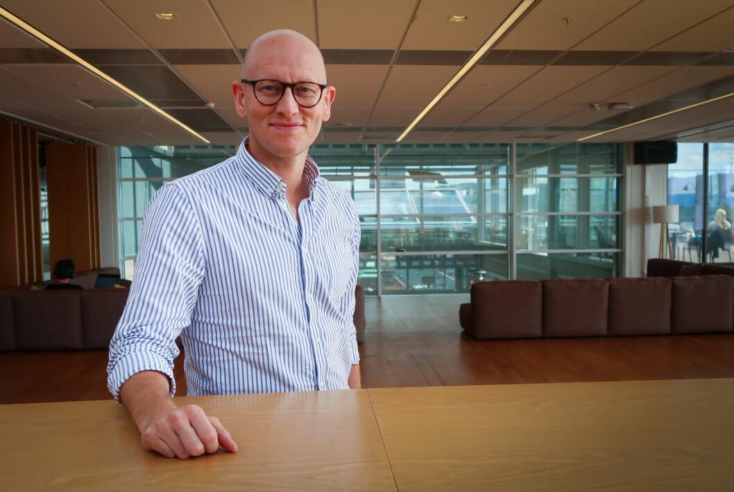 – Det ressurskrevende å bygge opp en app ved siden av VG, sier produktdirektør Ola Stenberg.