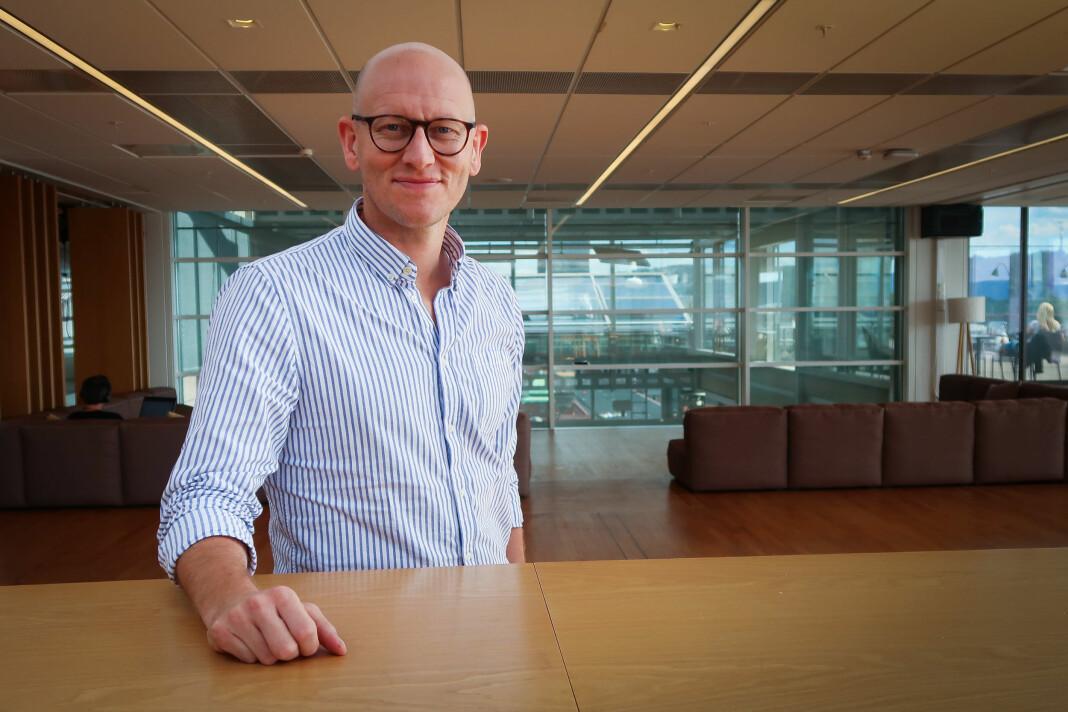 Ola Stenberg går fra jobben som utviklingsredaktør i VG til å bli produktdirektør, men nå med mer ansvar for hele Schibsted. Foto: Schibsted