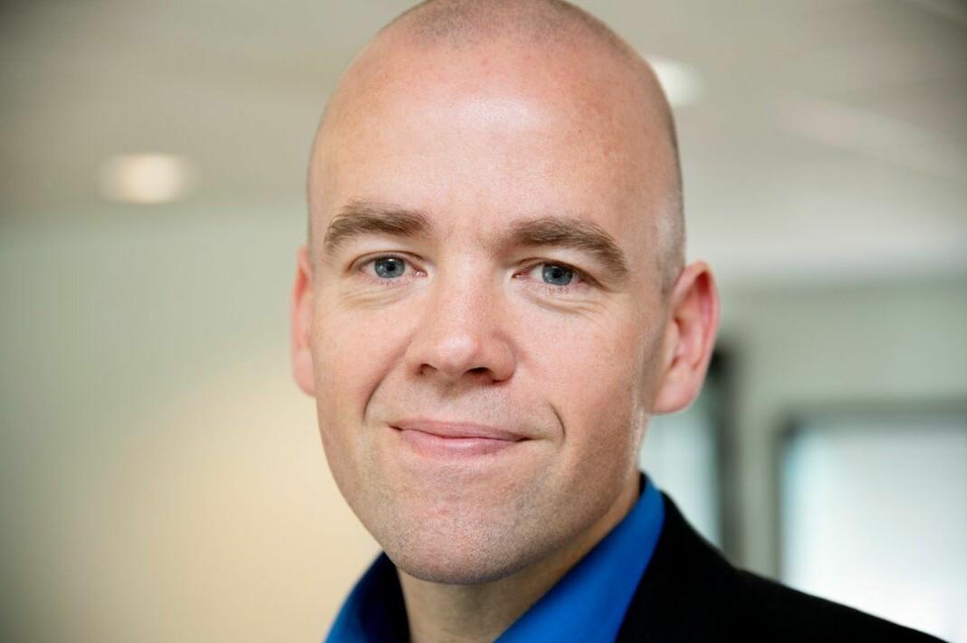 Daglig leder og ansvarlig redaktør i Østlendingen, Tom Martin Kjelstad Hartviksen, slutter i jobben etter fire år og blir ny eneleder i GD. Foto: Torbjørn Olsen / GD