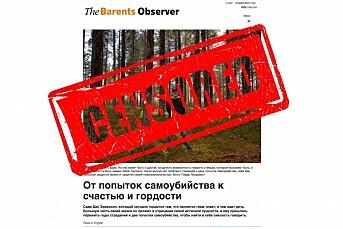 Russlands blokkering av norske The Barents Observer havner i retten