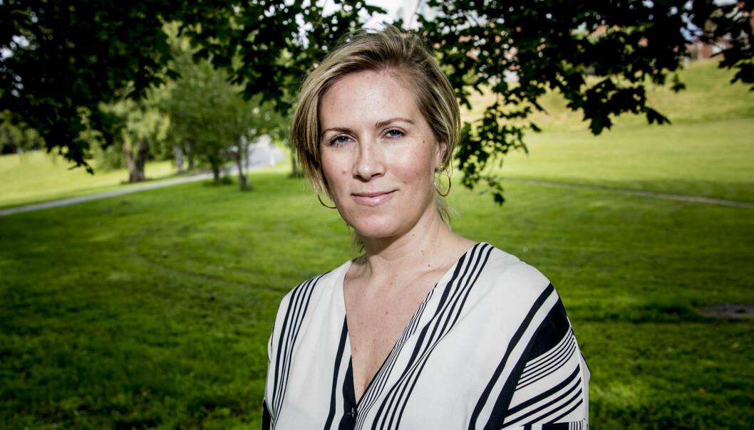 Karin Grønn Madshus er fast ansatt i Vi.no. Foto: Christian Roth Christensen
