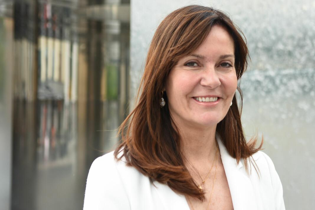 Kristin Monstad slutter som sjefredaktør i Drammens Tidende, og begynner i Go-Ahead. Foto: Innsendt