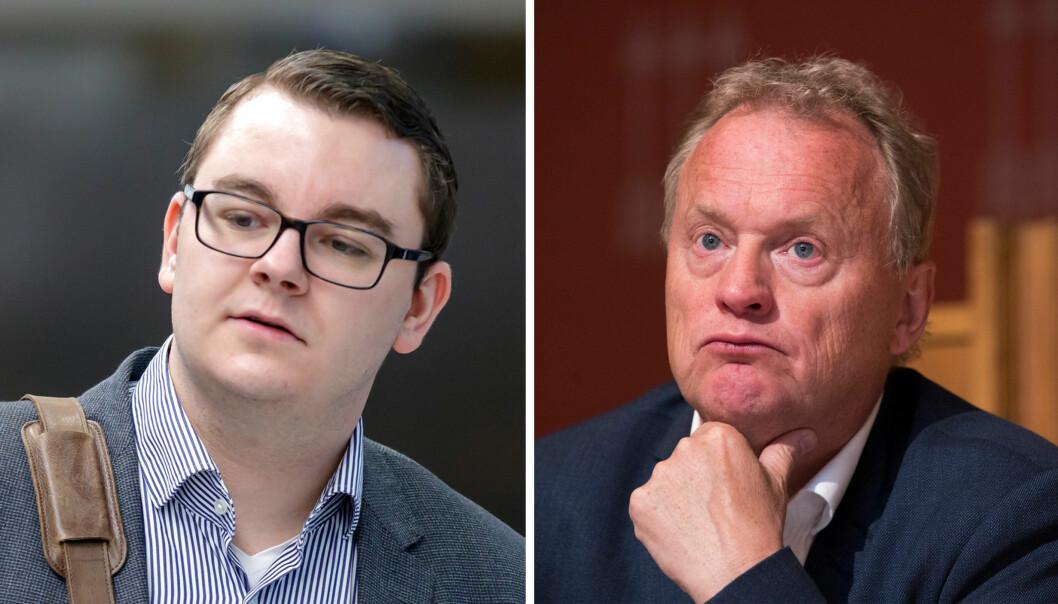 Nettavisens journalist Espen Teigen får kritikk av byrådsleder Raymond Johansen (Ap). Foto: NTB scanpix