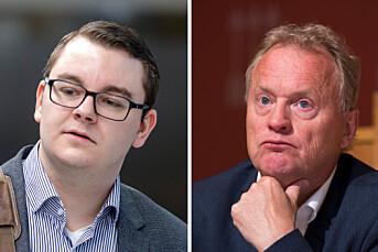 Raymond Johansen anklager Nettavisens Espen Teigen for å være som «Frps spinndoktor»