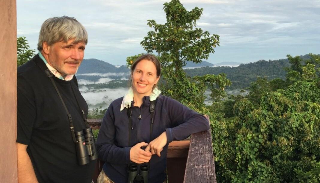 Ragnhild Rajala Lautz og faren Andreas Lautz driver Tana Gull og Sølvsmie AS. Foto: Privat