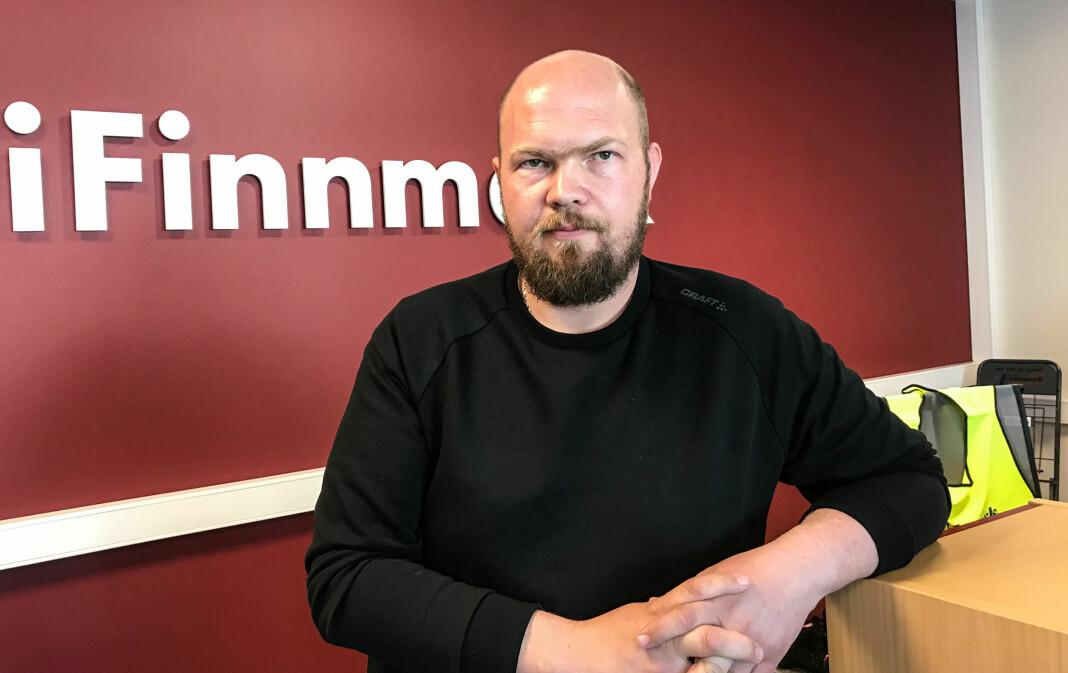 Arnfinn Sjøenden er vikarjournalist i iFinnmark, og lokalpolitiker i Porsanger. Foto: Bjørn Arne Johansen
