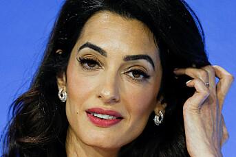 Amal Clooney slakter verdensledere for håndtering av Khashoggi-drapet