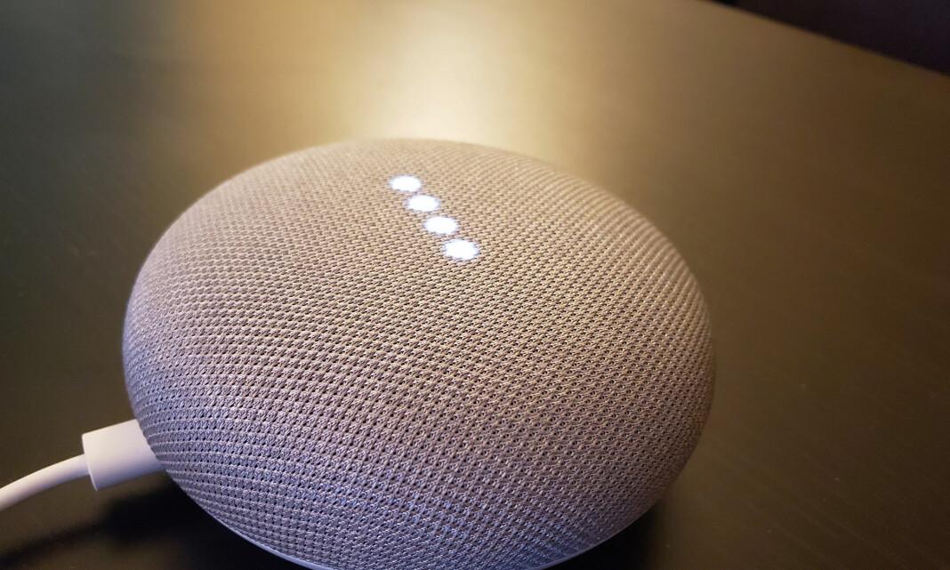 Google skal granske lekkasje fra smarthøyttalere