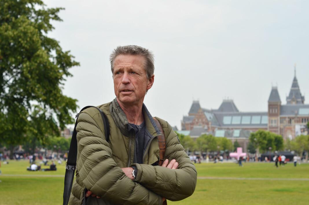 – Jeg vil ikke anbefale noen å gå til retten før alle andre alternativer er prøvd, sier Ruud Rogier, som er forberedt på at det vil ta lang tid å få en endelig løsning på saken. Foto: Kjerstin Gjengedal