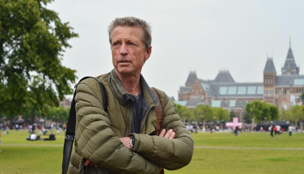 – Jeg vil ikke anbefale noen å gå til retten før alle andre alternativer er prøvd, sa Ruud Rogier til Journalisten i juli. Foto: Kjerstin Gjengedal